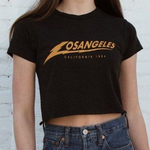 BRAND NEW Brandy Melville cropped tee